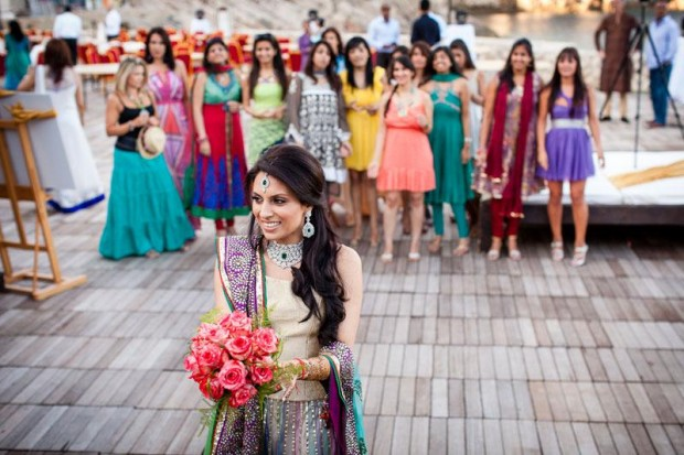 Traditional Indian wedding in Dubrovnik