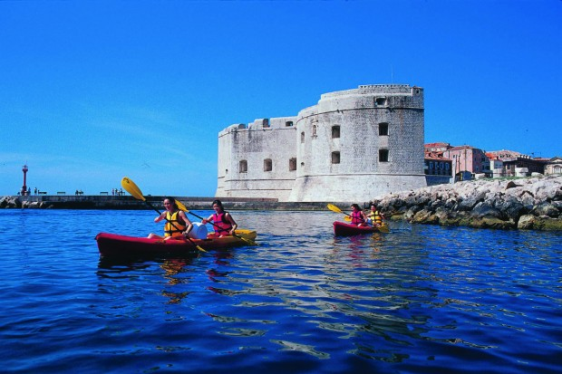 Croatia Dubrovnik sea