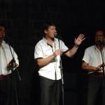 Vocal group Intrade in Sorkočević garden