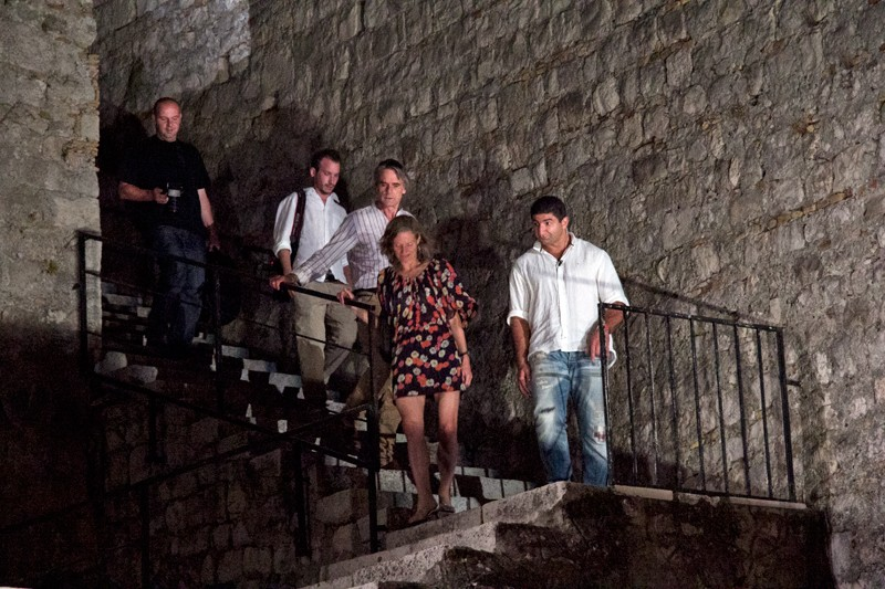 Jeremy Irons Dubrovnik
