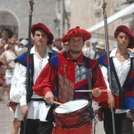 Town watch – an attraction in historical nucleus of Dubrovnik