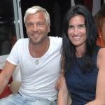 "Ulf ""Buddha"" Ekberg and his wife"