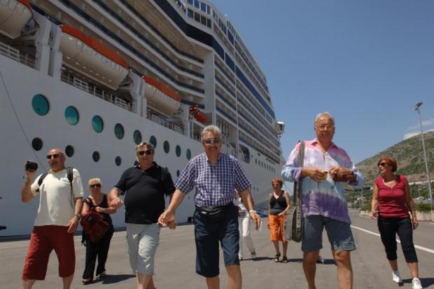Tourists Dubrovnik
