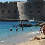 Beaches in Dubrovnik