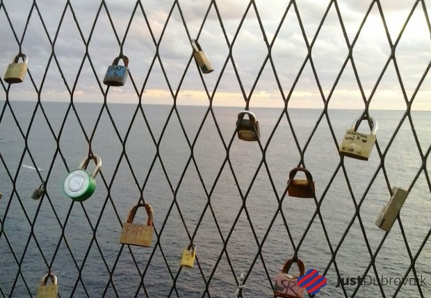 Padlocks of love Boninovo