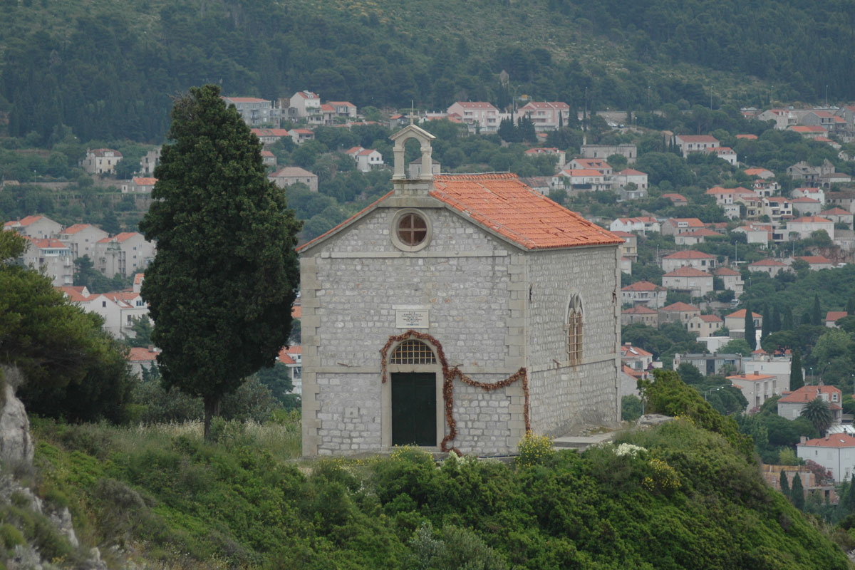 The Church of St Blaise on Gorica