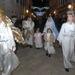 Christmas nativity Dubrovnik