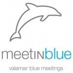 Meet in Blue Logo