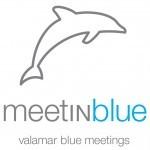 Meet in Blue Logo