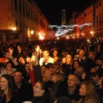 New Year 2013 celebration in Dubrovnik