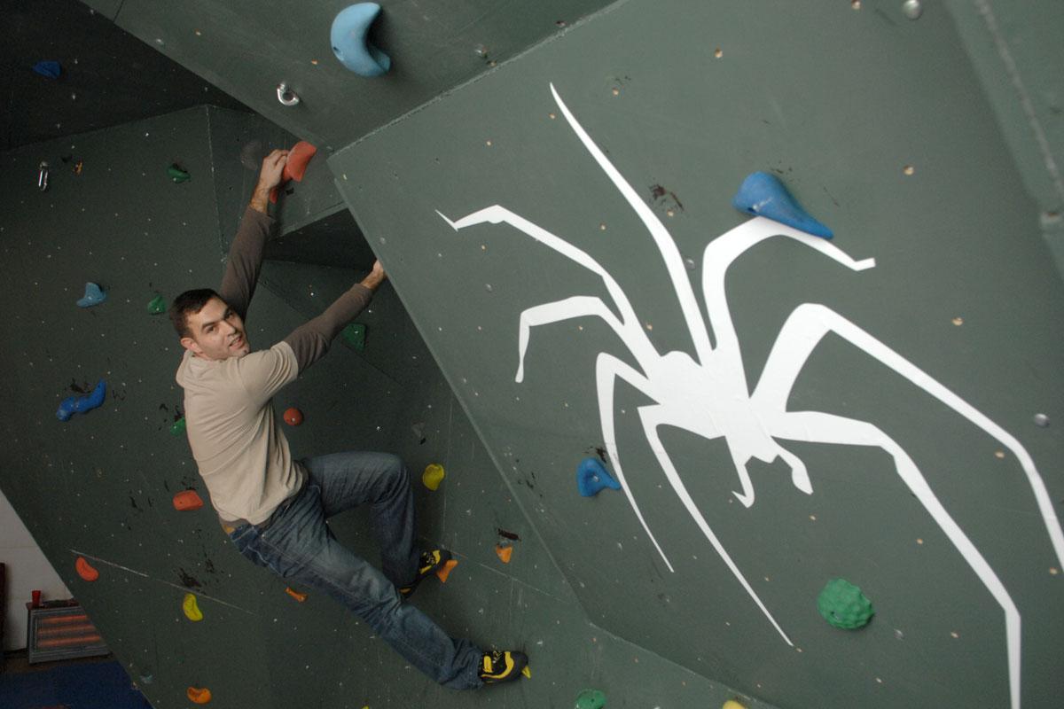 Climbing wall - Spider