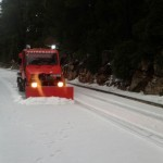 Snow on Mljet