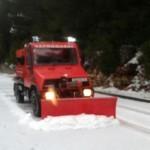 Snow on Mljet