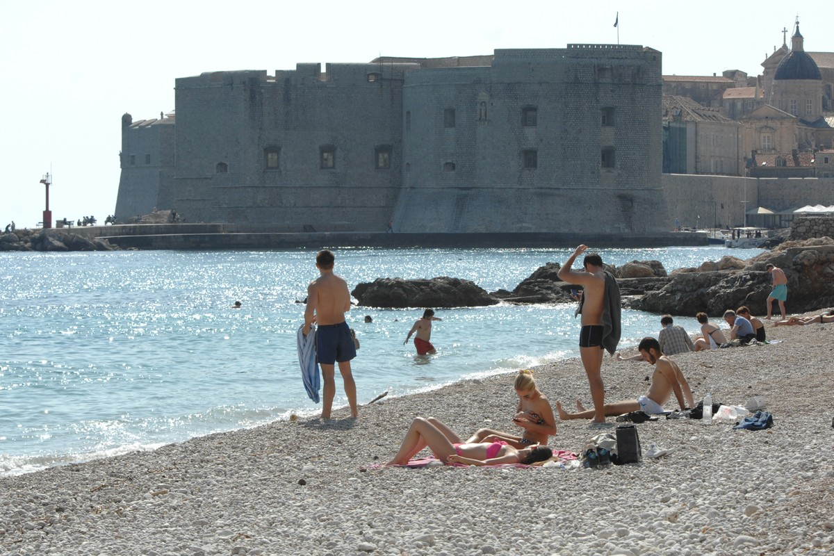 Swimming in Dubrovnik