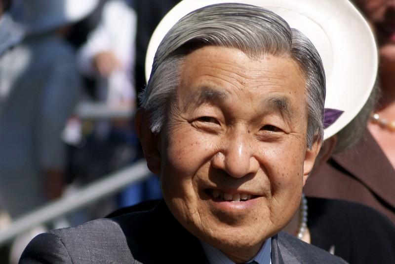 Japanese Emperor Akihitio