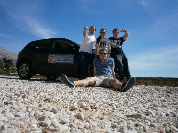Hitchhikers Race from Poland to Dubrovnik