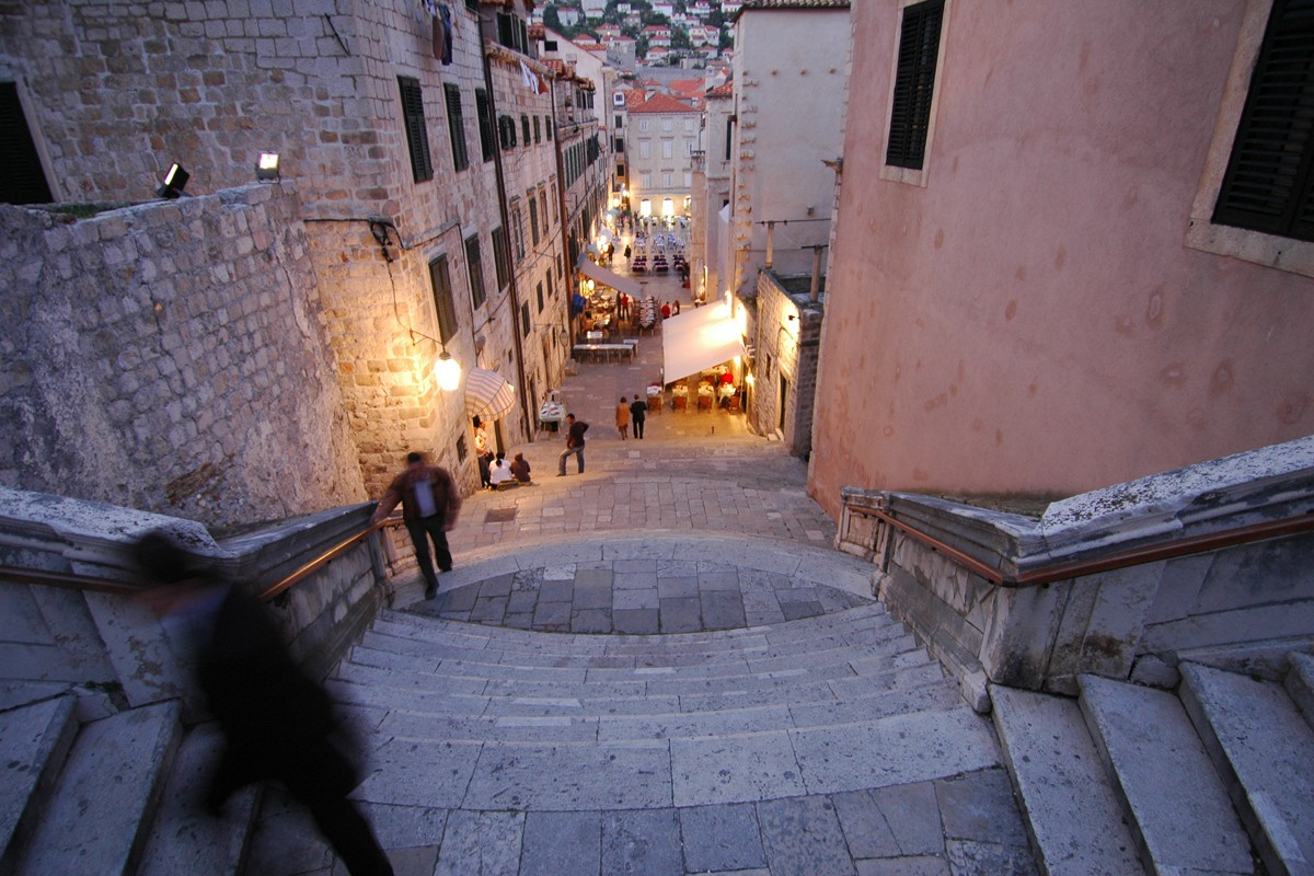 Jesuits Staircase in Dubrovnik