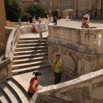 Jesuits Staircase in Dubrovnik