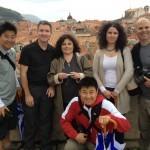 US television presenter Joel Barish in Dubrovnik