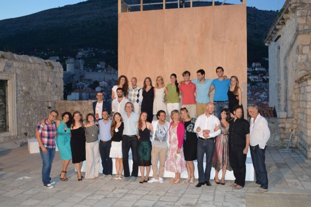 Opera Flash Mob On Dubrovnik's Stradun