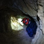 'Fairies' Cave' near the Ombla river in Dubrovnik