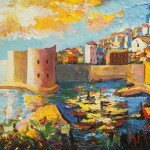 Dubrovnik Art Poster: The Perfect Souvenir by Vedran Šerbu