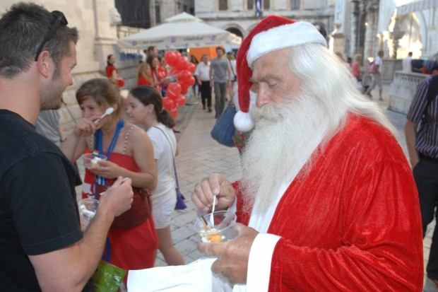 Santa Claus in Dubrovnik