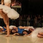 Ballet Dancers On Stradun