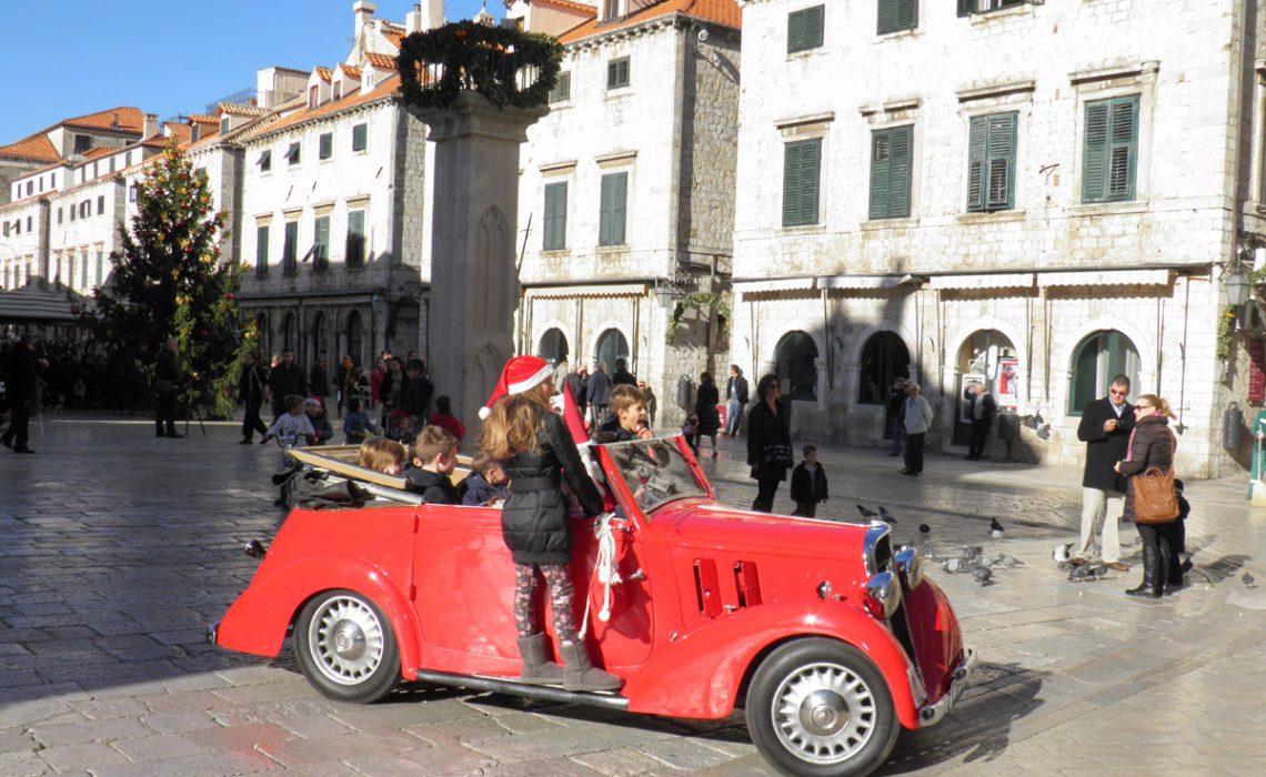 Classic Cars Line The Stradun - Just Dubrovnik