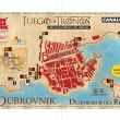 Game of thrones Dubrovnik city maps