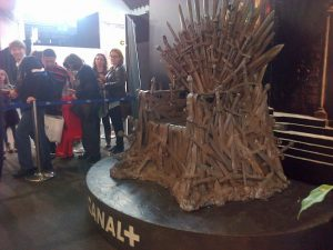 Iron Throne Barcelona Game of Thrones