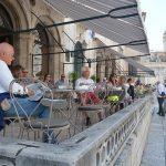 Dubrovnik town café opened it's door!