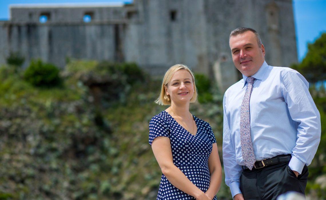 Mirjana Dostal&Emil Delibashev British Airways