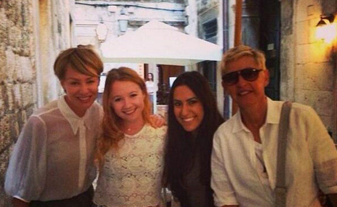 Ellen DeGeneres Portia de Rossi Dubrovnik