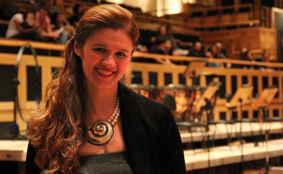 A pianist Ivana Marija Vidovic impressed Brazilian audience!