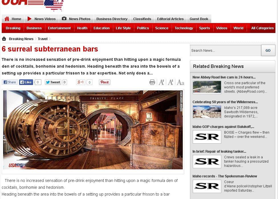 USANews Cave bar More