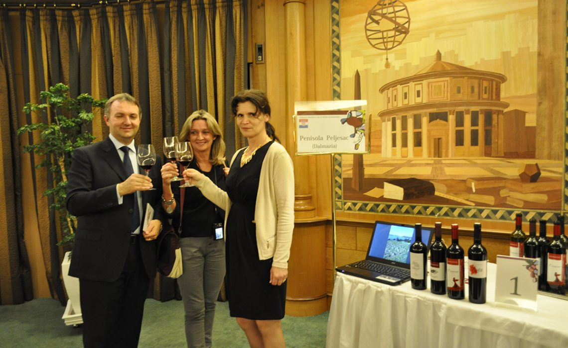 Italians were delighted with Croatian wines
