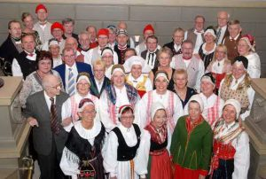 Swedish folk ensemble