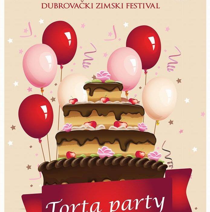 Street Cake Party on Stradun!