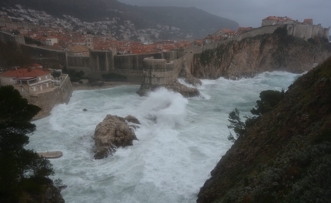 Photo Gallery: Storm in Dubrovnik