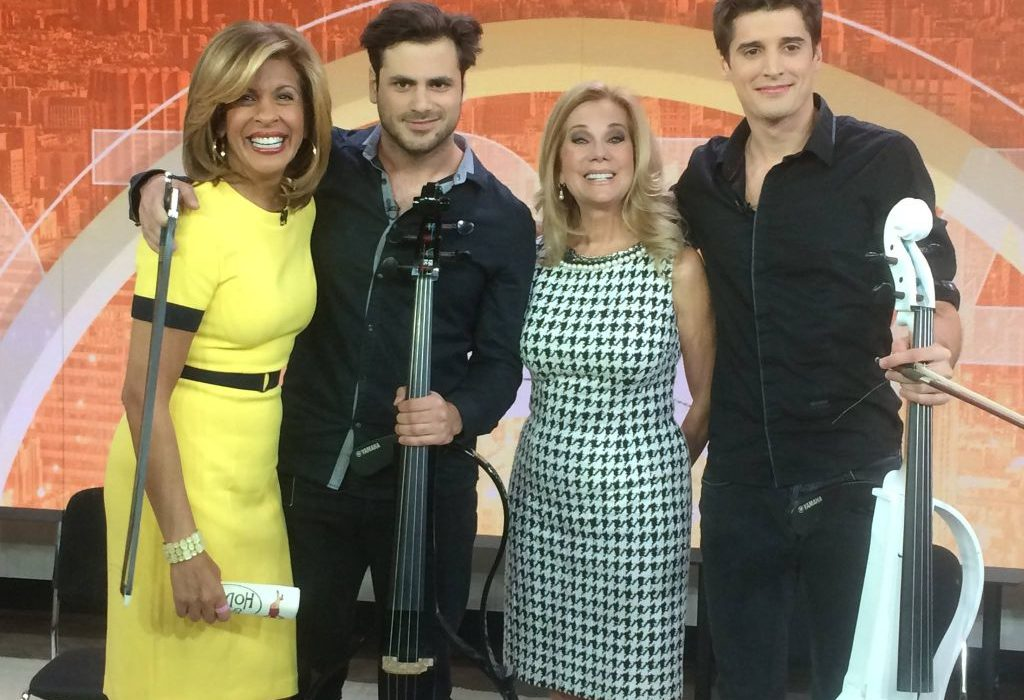2Cellos Are The New Stars Of The Today Show