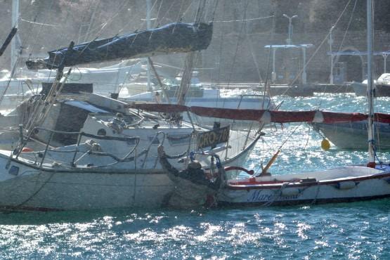 Storm Orsan ship