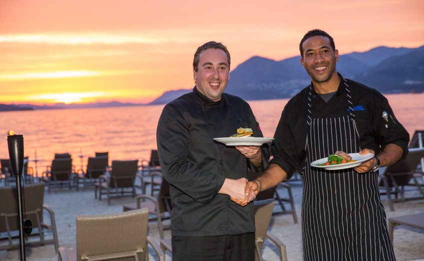 The Valamar Dubrovnik President Hotel 5 * held a unique culinary duel