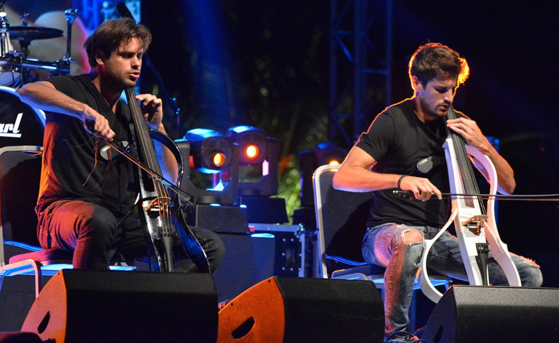 The award for the best concert goes to 2 Cellos! - Just