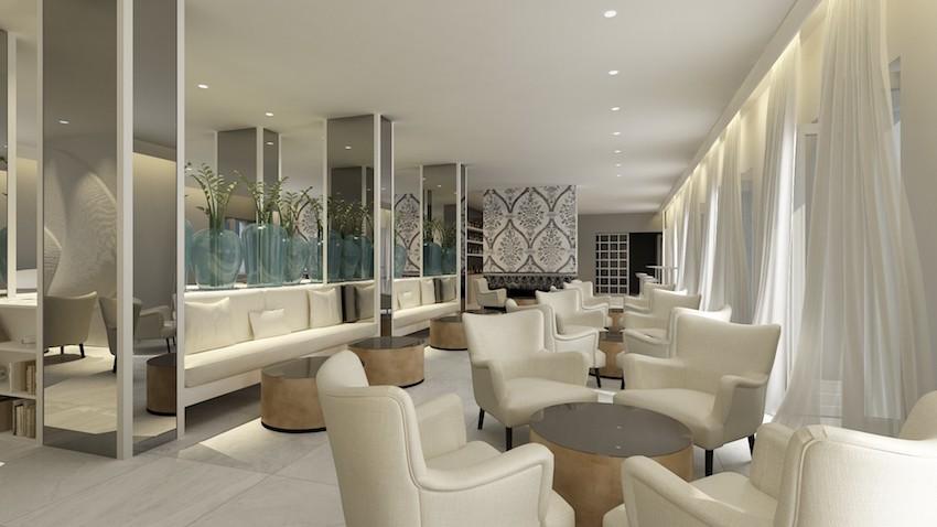 Hotel Bellevue, Orebić, Kavana   2. The Interior Design ...