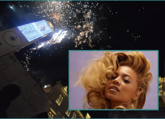 Beyonce on New Years Eve