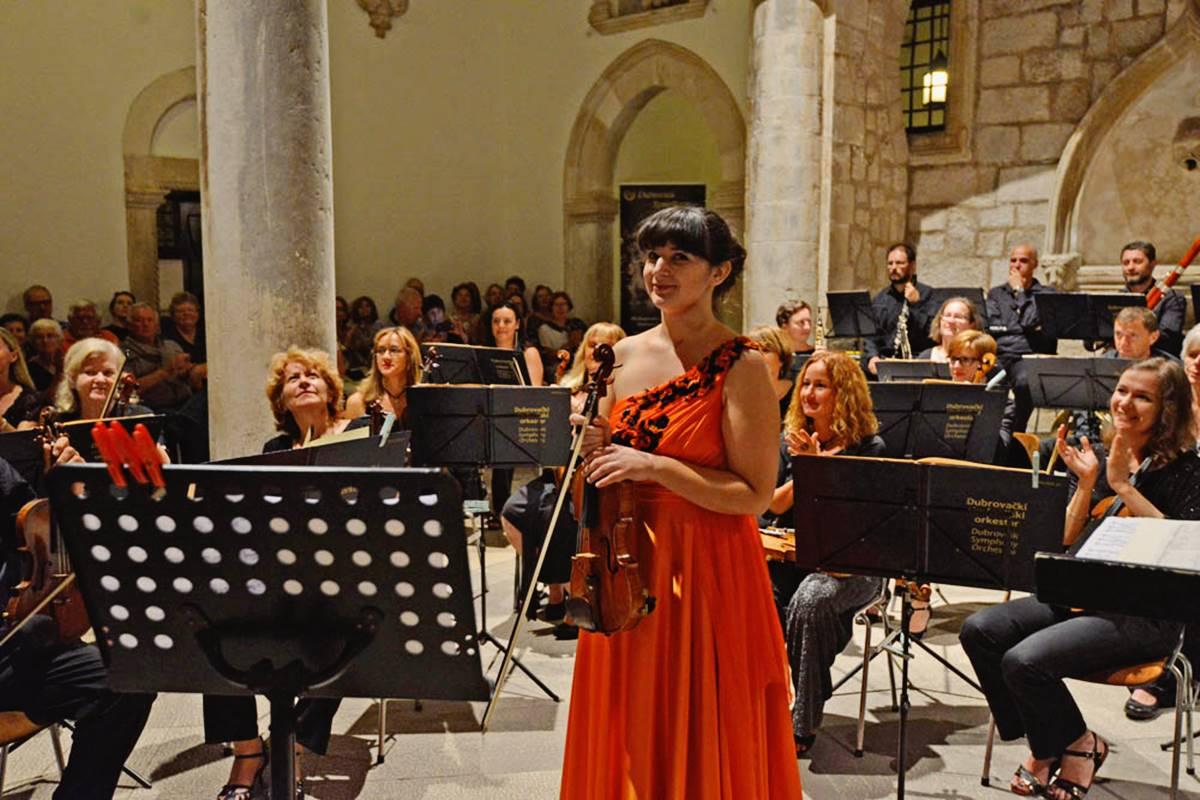 Dubrovnik, 22.09.2015. Koncert Dubrovnik u pozno ljeto - DSO, Christoph Campestrini i Djana Kahriman