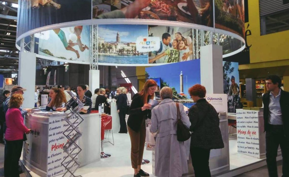 Presentation of our county on the salon mondial du - Salon tourisme paris ...