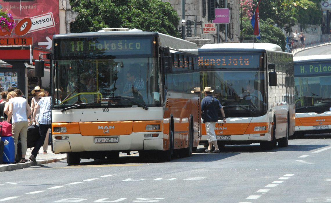 While In Dubrovnik You Can Travel All Around The Town And Suburbs With The City And Suburban Public Transport The Bus Lines Are Frequent And They Connect