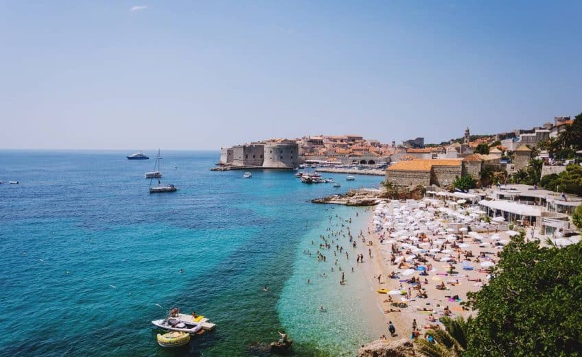 Four Million Overnight Stays Dubrovnik Banje Summer Tourists